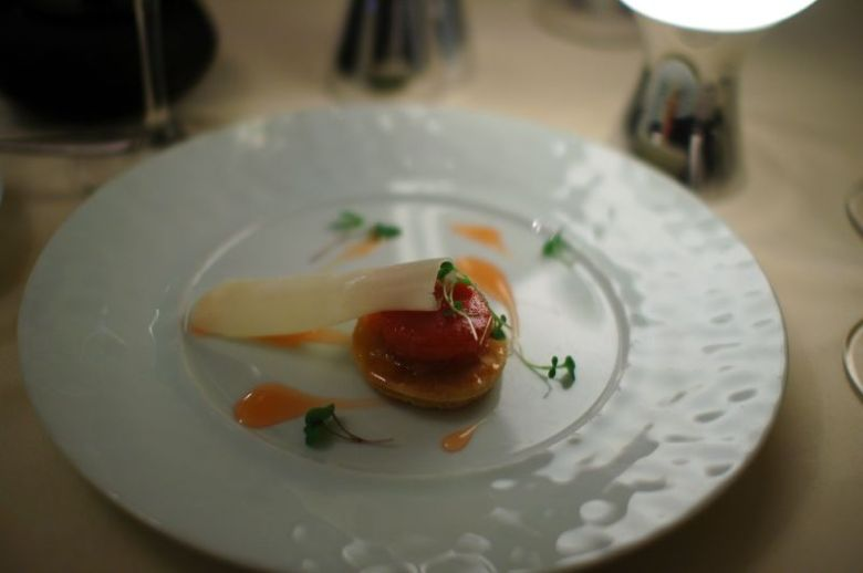 Quince Tart and Massipou Cheese