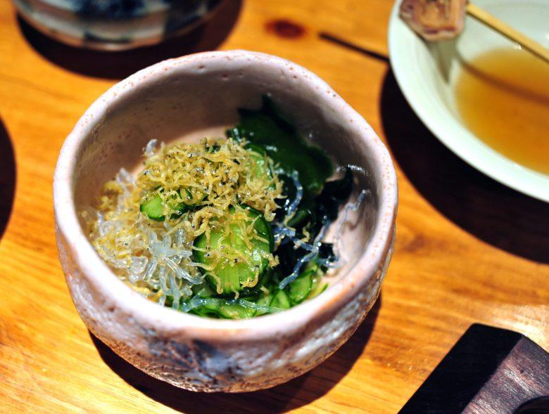 Cucumber & Seaweed Salad