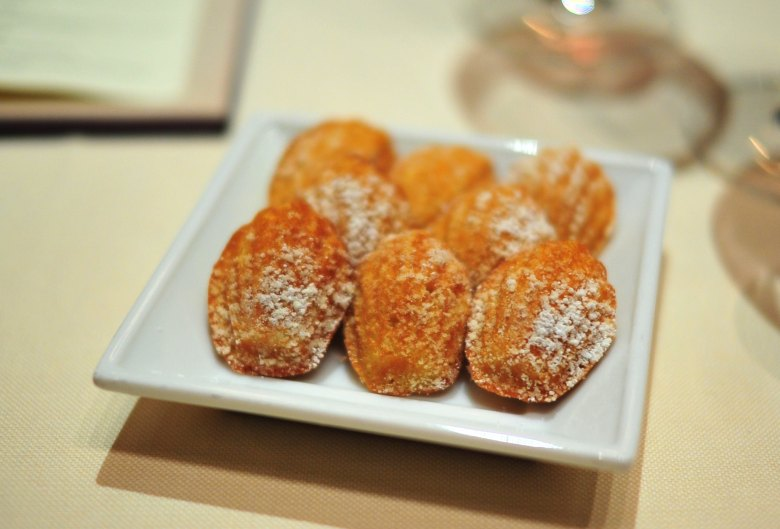 Petits Fours: Brown Butter Madeleines