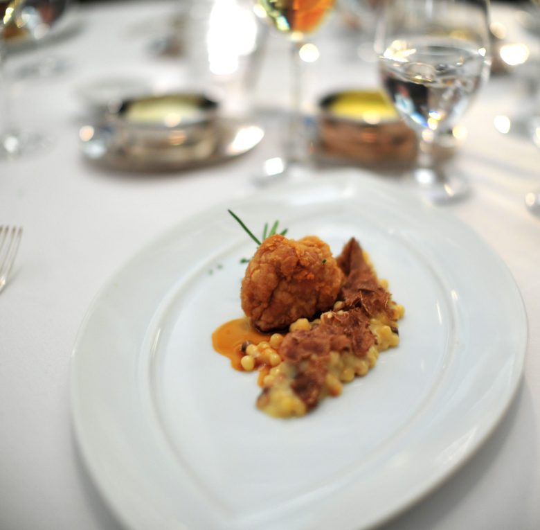 8th Course: Four Story Hill Sweetbreads