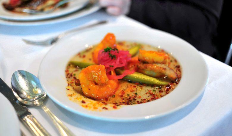 Shrimp and Tasso Henican