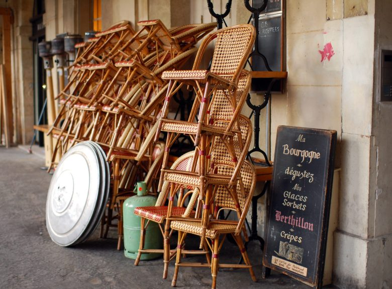 photo of the week 20: stackable wicker...