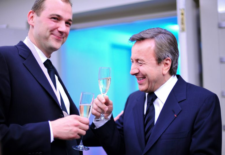 Daniel Humm and Daniel Boulud.