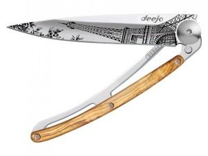 Couteau tatoo 37gr Tour Eiffel- Deejo