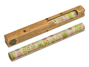 Rouleau feuille alimentaire cire d'abeille -Nuts
