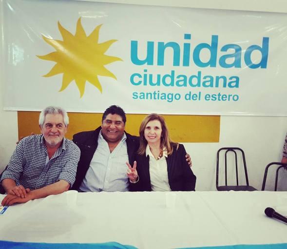 Pablo Picota, Gabriel Etcheverry y Ana María Corradi.