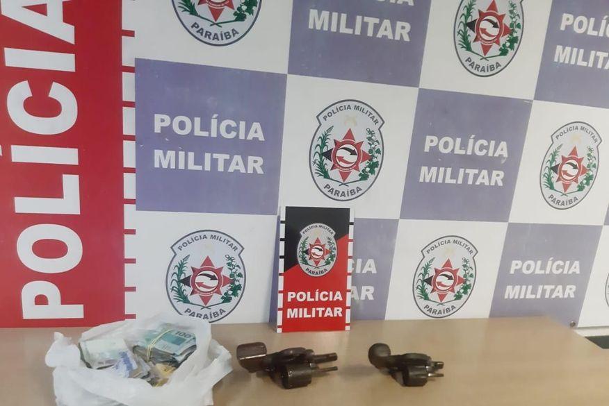Operação da Polícia Militar prende cinco pessoas e apreende oito armas de fogo em João Pessoa