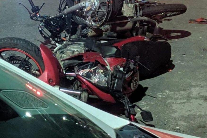 Colisão entre motos deixa duas pessoas mortas em João Pessoa