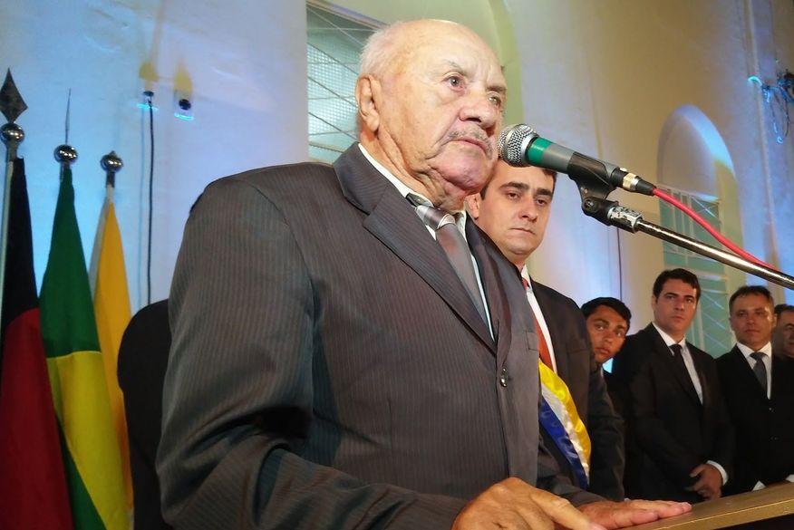 Morre aos 89 anos o primeiro prefeito de Cubati, Zezinho Preá, vítima de Covid-19