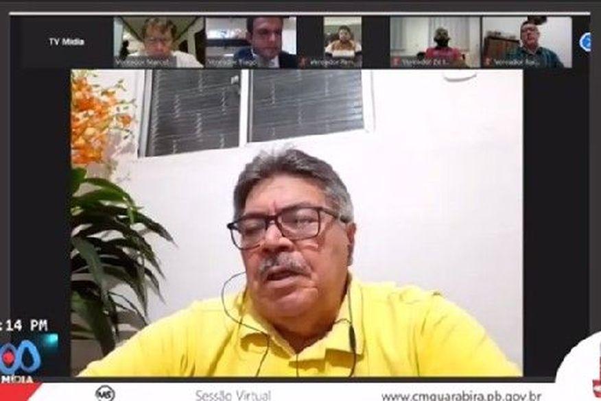 Em sessão remota durante a pandemia, vereadores de Guarabira aumentam os próprios salários, do prefeito, vice-prefeito e secretários