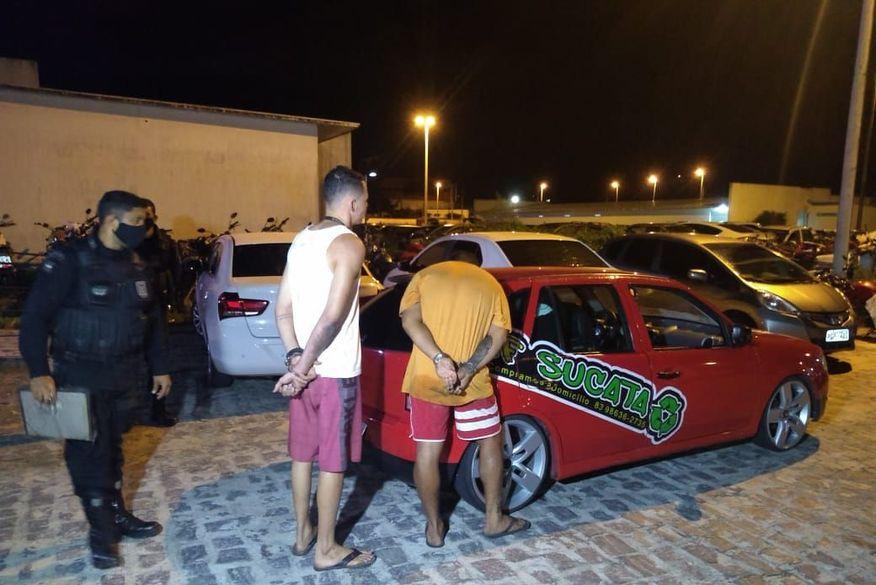 Polícia Militar interrompe festa e apreende drogas e veículos em João Pessoa