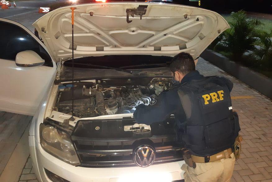 PRF prende homem e apreende em Campina Grande caminhonete roubada há uma semana em Pernambuco