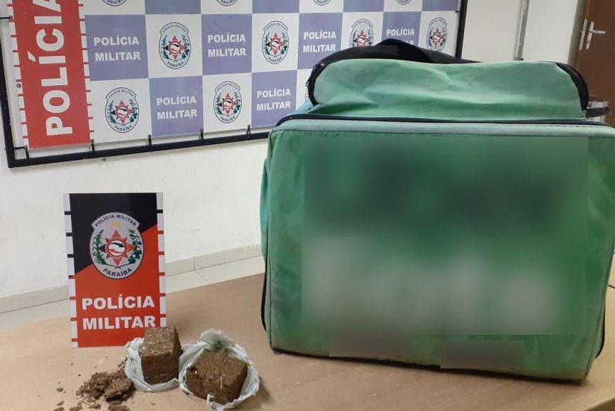 Polícia prende suspeito de se passar por motoboy para entregar drogas em João Pessoa