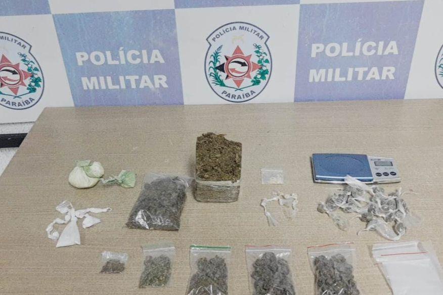 Foragido da Justiça é capturado e drogas são apreendidas durante ações em bairros de João Pessoa
