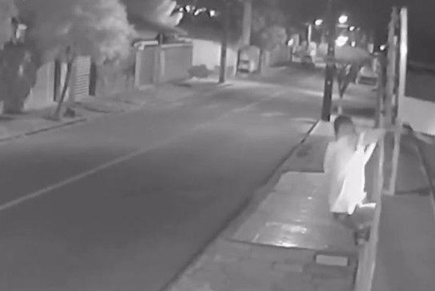 Criminoso leva choque em cerca elétrica ao tentar invadir residência em Campina Grande