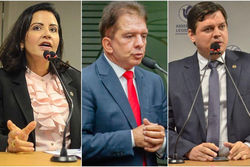 G11 fica menor com anúncio da saída dos deputados Pollyanna, Nabor e Taciano