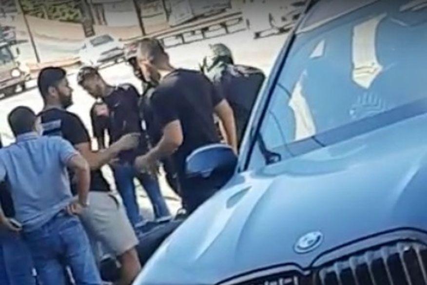 Jogador paraibano Hulk se envolve em acidente de trânsito com motoqueiro na Grande Belo Horizonte