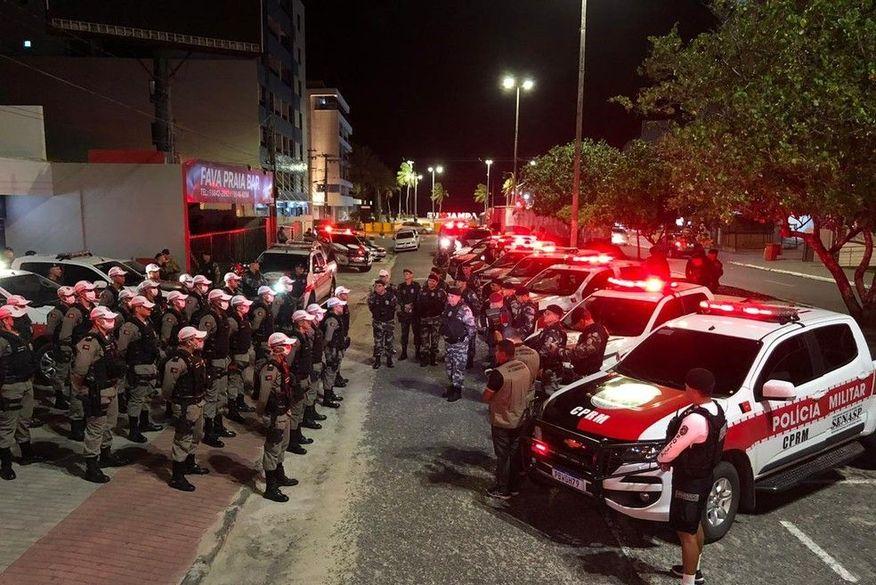 Polícia Militar intensifica fiscalização para coibir aglomerações e descumprimento de novo decreto na Região Metropolitana de João Pessoa