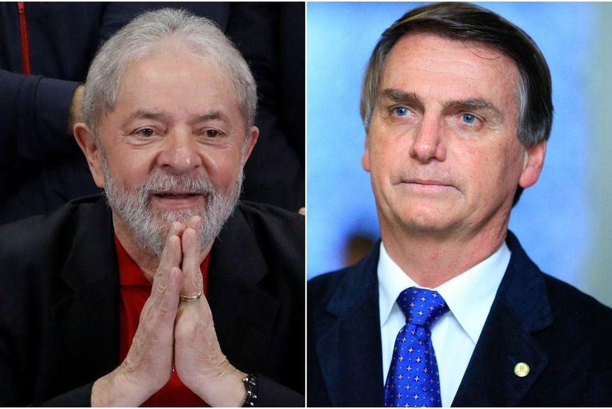 Lula tem 35% de intenções de voto e Bolsonaro, 33%, mostra pesquisa