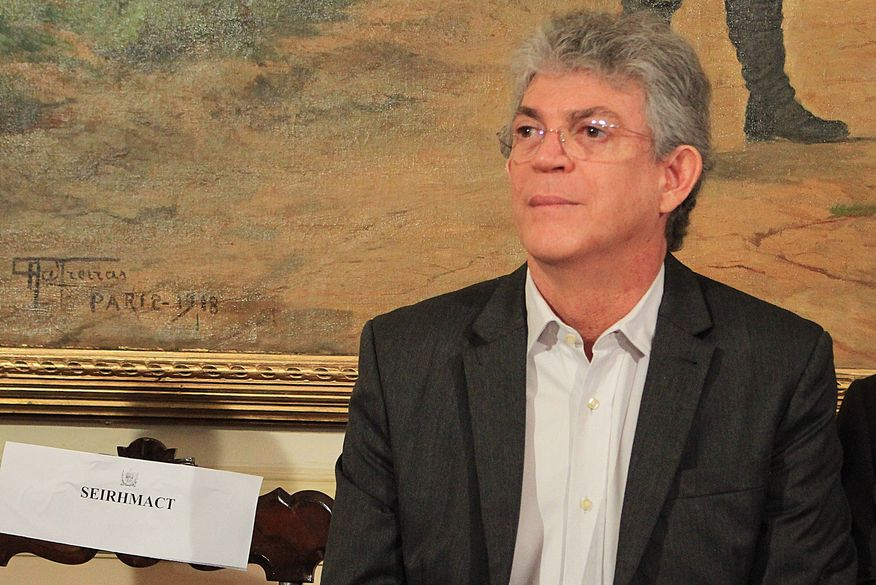 Ricardo Coutinho é denunciado mais uma vez na Operação Calvário acusado de chefiar esquema de codificados e MPPB pede reparação de R$ 215 milhões