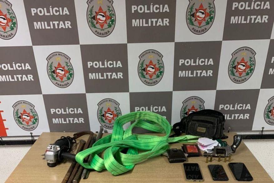 Polícia Militar prende trio suspeito de praticar assaltos na zona sul de João Pessoa