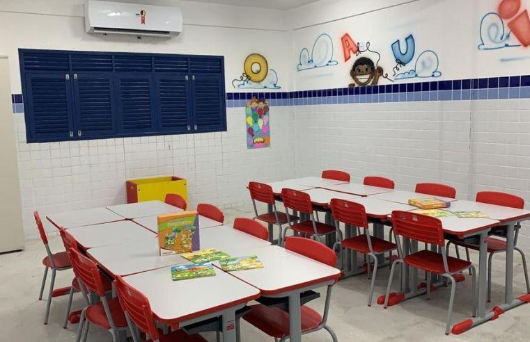 Secretária diz que obras inacabadas nas escolas municipais atrapalharam retomada do ensino presencial em João Pessoa