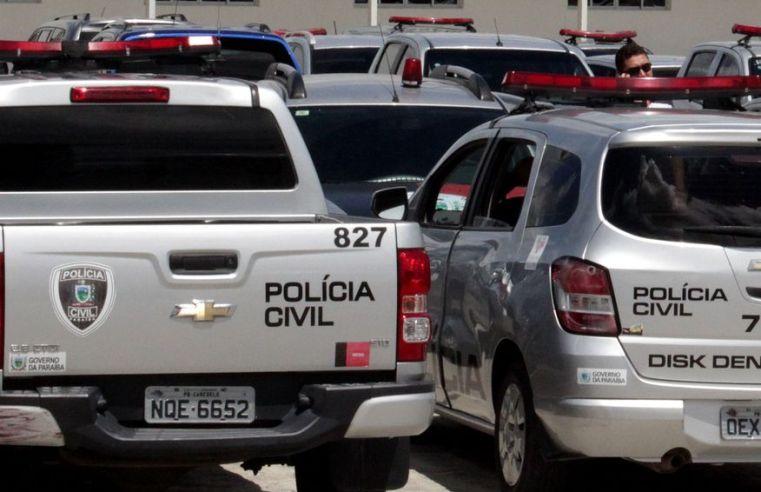 Polícia Civil da Paraíba cumpre três mandados de prisão contra foragido da justiça de Pernambuco