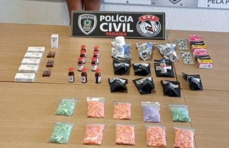 Polícia Civil prende mulher com mais 1000 comprimidos de 'Ecstasy'