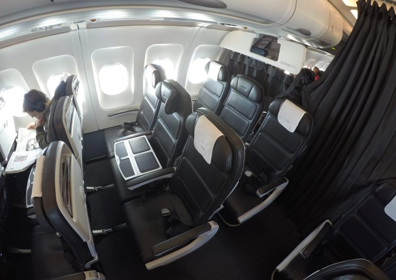 Cabina de business class regional de British Airways