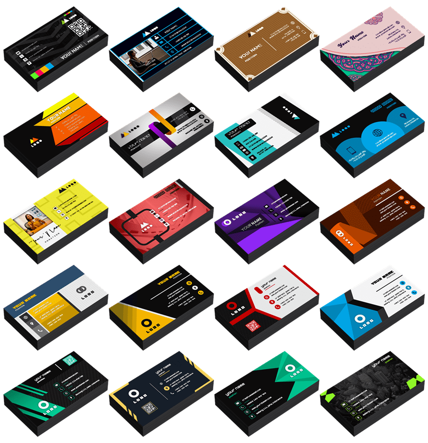 All Preview Name Cards