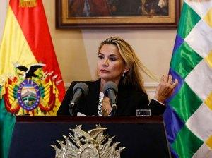 Tribunal Boliviano rechazó medida cautelar de Áñez