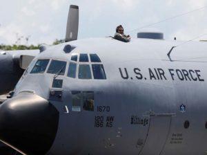 Aviones militares gringos llegan a Curazao