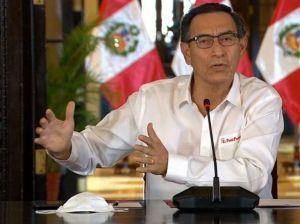 Fiscalía peruana insiste en prisión preventiva contra Martín Vizcarra