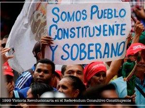 Maduro rememoró 22 años del primer referéndum consultivo en el país