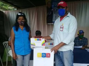 More than 150 TDA decoders received the Cano Carinagua commune