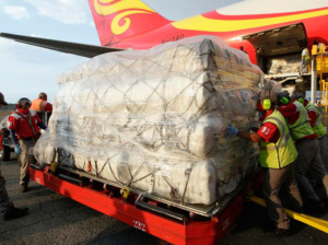 Llegó sexto cargamento de ayuda humanitaria china a Venezuela