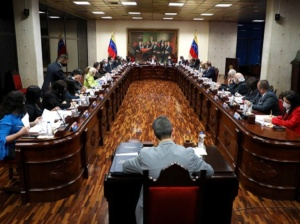 Sala Plena del TSJ nombra su nueva junta directiva