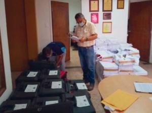 CNE distribuyó material sanitario para jornada especial de registro