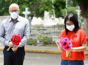 Rinden homenaje a Jorge Rodríguez padre a 44 años de su siembra