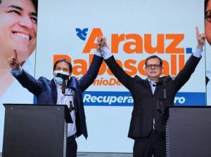 Candidato Arauz: Cuidaremos para que prevalezca la voluntad popular