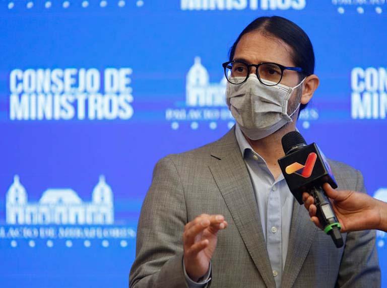 Venezuela reporta 540 nuevos contagios por covid-19