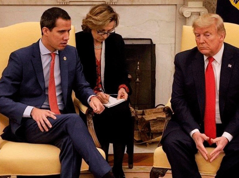 Before the complaints of his allies, Guaidó says I am not going.