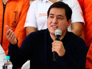 Encuestas cierran en Ecuador favoreciendo levemente a Arauz