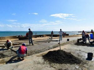 In Cumaná they resume the construction of the Coastal Belt