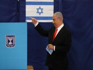 Netanyahu se alista para celebrar cuartas elecciones en dos años