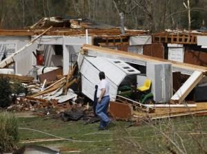 Tornados castigan el sureste de EEUU y dejan seis muertos