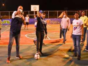 In Sucre they reactivate more than 20 sports fields