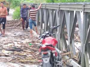 Familias afectadas por las lluvias en el Sur del Lago reciben atención