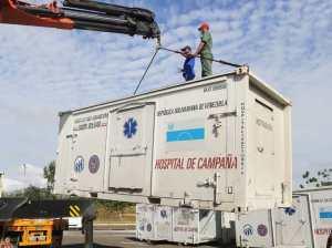 Instalan en Bolívar Hospital de Campaña