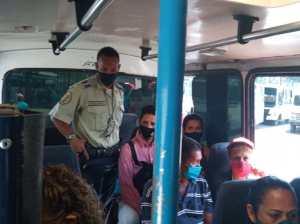 En Valles del Tuy suspendieron transporte interurbano